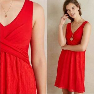 Anthropologie Amadi NWT Red Dress